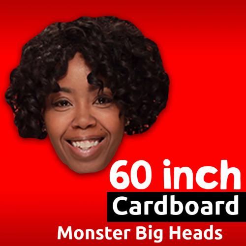 "60"" Custom Cardboard MONSTER Big Head"